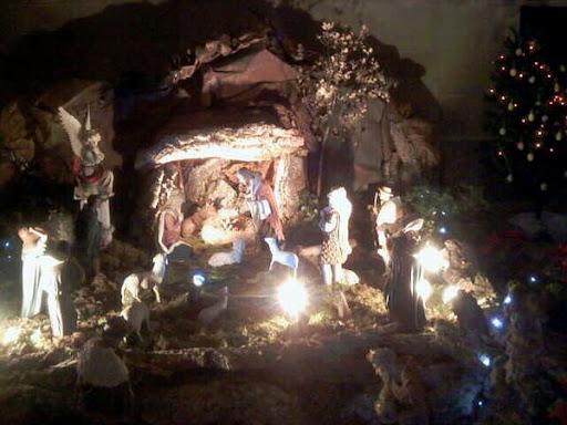 Рождественские ясли в Соборе Ла Се фото