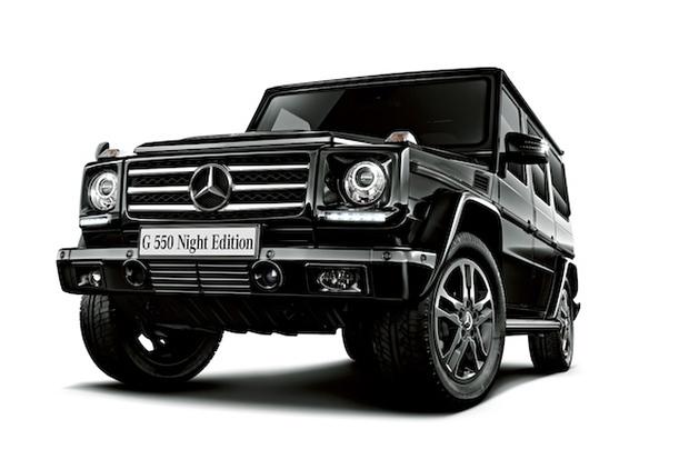 *Mercedes-Benz G550 「Night Edition」震撼黑夜登場:日本獨佔限量100台! 1