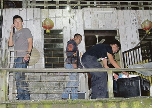 Gambar pembunuhan pada hari Khamis
