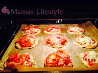 9 leckere Mini-Pizzen backen im Ofen