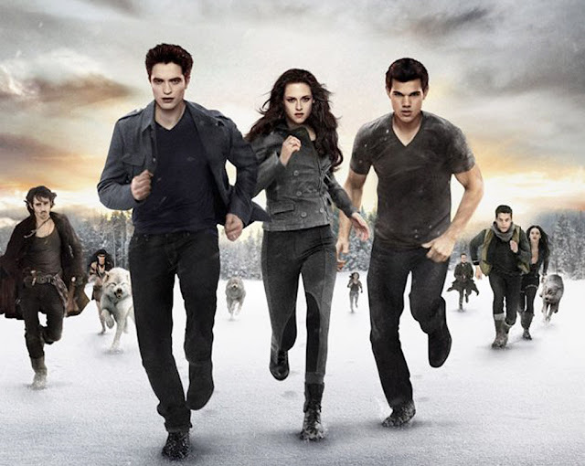 Twilight Breaking Dawn Part Two movie poster