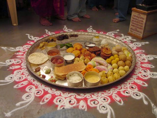 The MahaPrasad offering