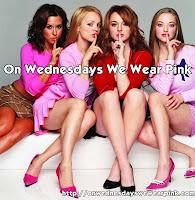 ~ On Wednesdays I Wear Pink ~