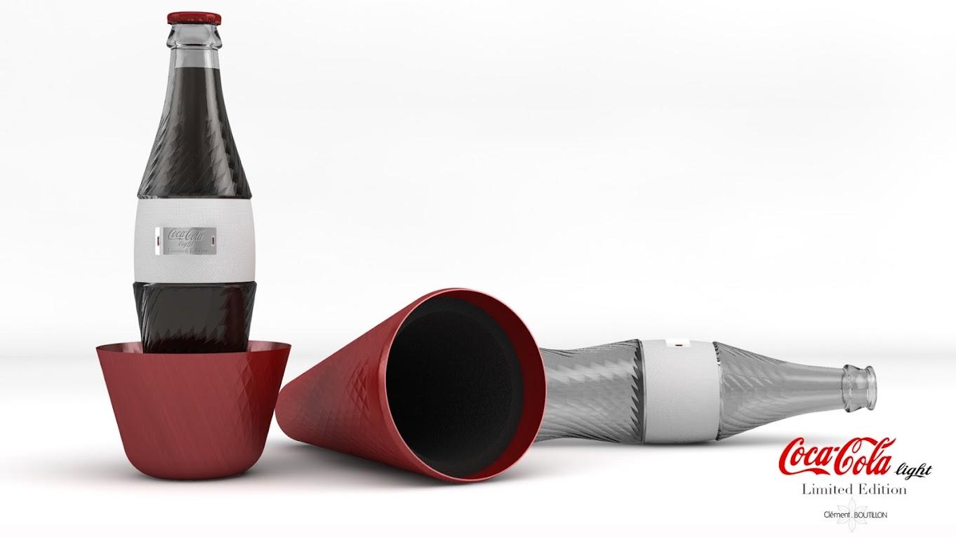 *低卡可口可樂曲線瓶:強調男女概念外型時尚設計! 3