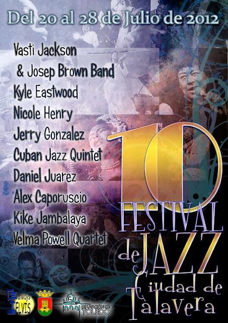 X Festival Jazz Ciudad de Talavera 2012
