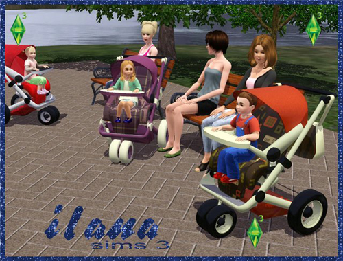 My Sims 3 Blog Baby Stroller By Ilana
