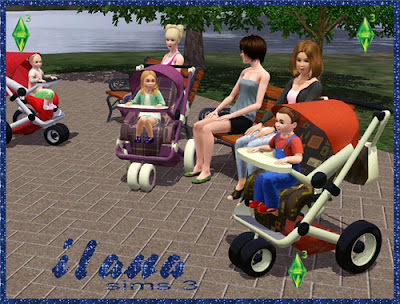 ShinoKCR s Babies - Stroller