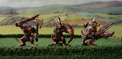 Skaven Clanrat Conversion Blood Bowl