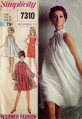 Call me crazy readers but I came this close to buying the above pattern on eBay a few days ago. Thankfully I came to my senses. Let the tent dress rest ...  sc 1 st  Male Pattern Boldness & male pattern boldness: The Tent Dress -- YEA or NAY?
