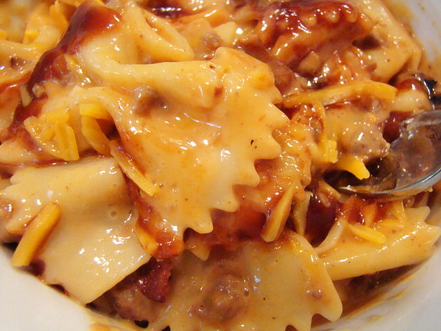 Krista's Kitchen: Bacon Cheeseburger Pasta