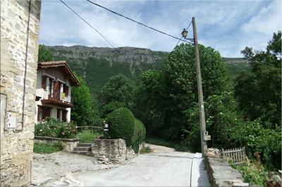 Último caserío del barrio de arriba