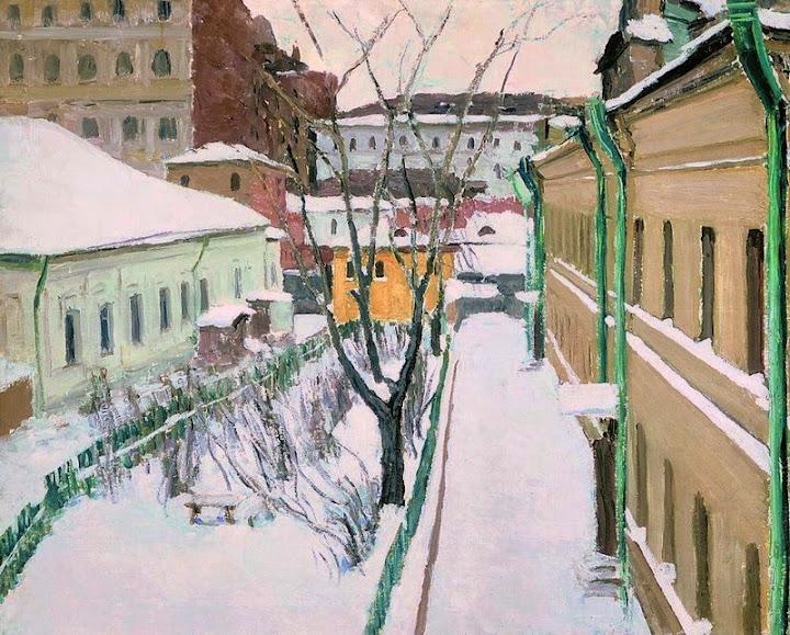 Igor Grabar - Moscow Patio