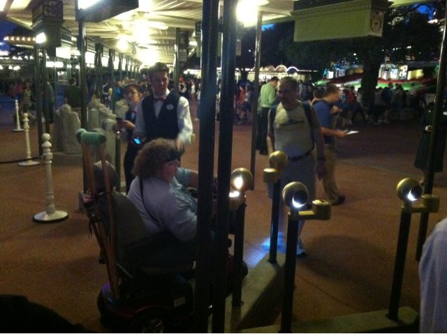 Rfid Turnstile At Walt Disney World