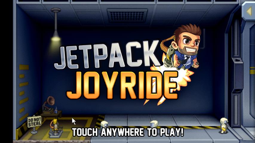 Jetpack Joyride | เกมส์เจ้าหนุ่มซ่าติดจรวดซิ่ง | โหลดเกมส์แอนดรอยด์ฟรี