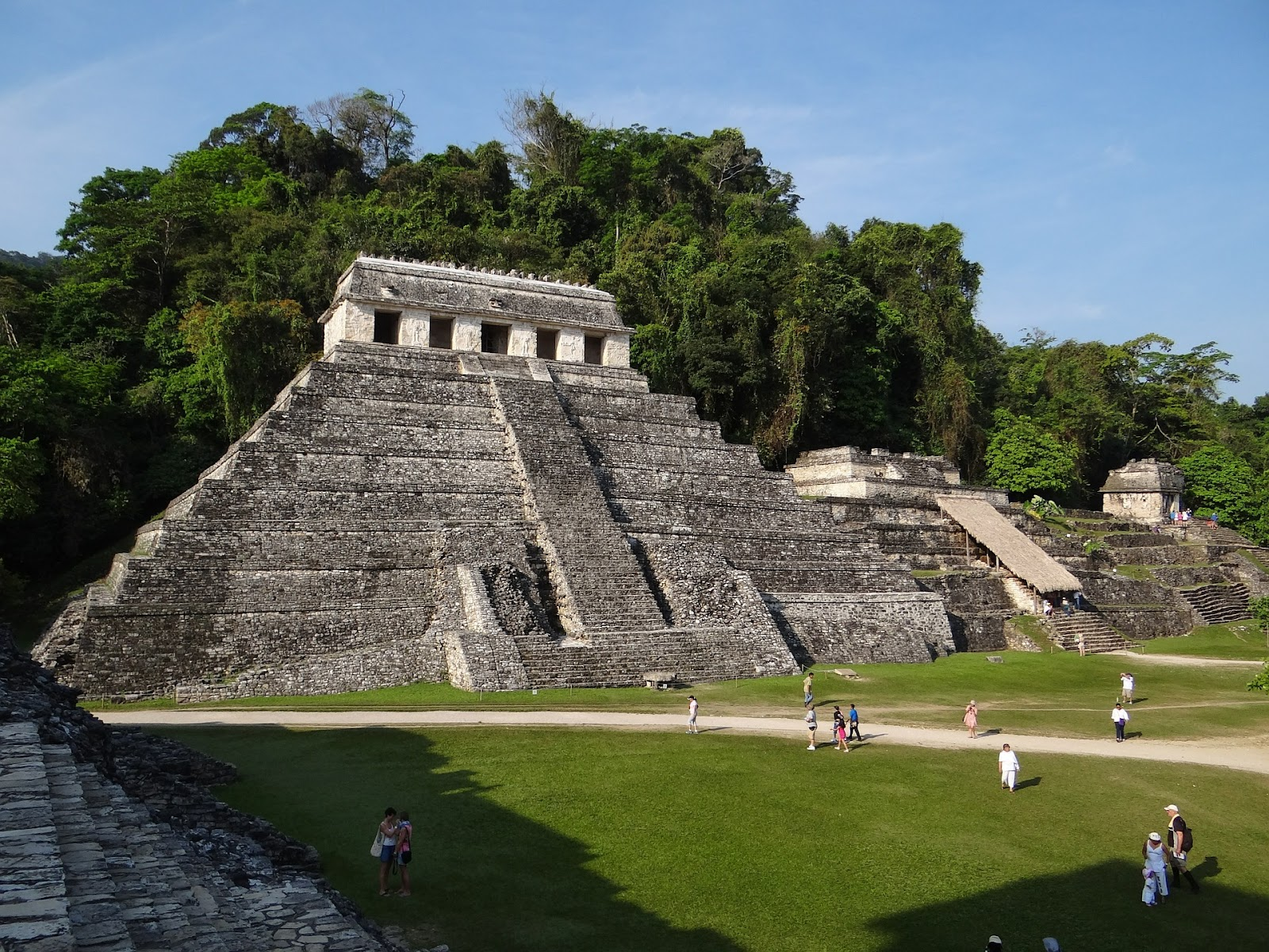 Mayan temples in Mexico.