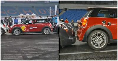 Chinês Han Yue bate recorde do Guinness de Estacionamento Mais Apertado