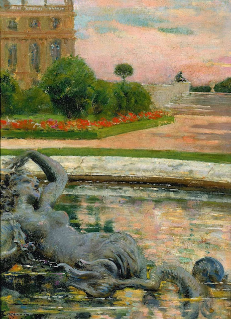 James Carroll Beckwith - Parterre du Nord, Fontaine des Sirenes