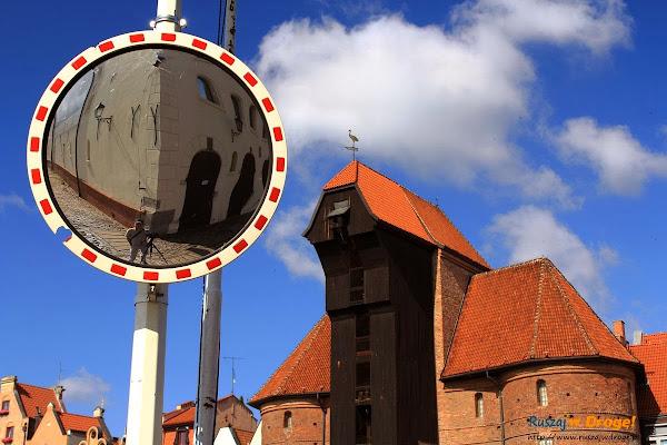 Gdańsk - Śłit focia z żurawiem
