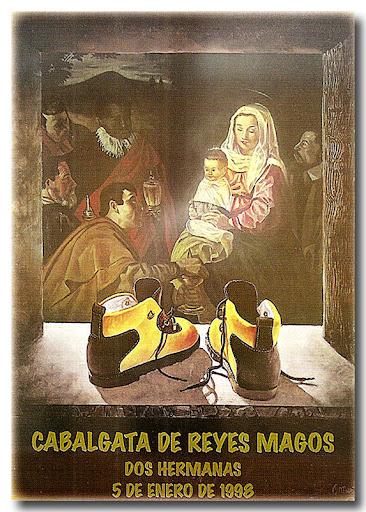 Cartel Cabalgata 1998, autor: Antonio Maestre