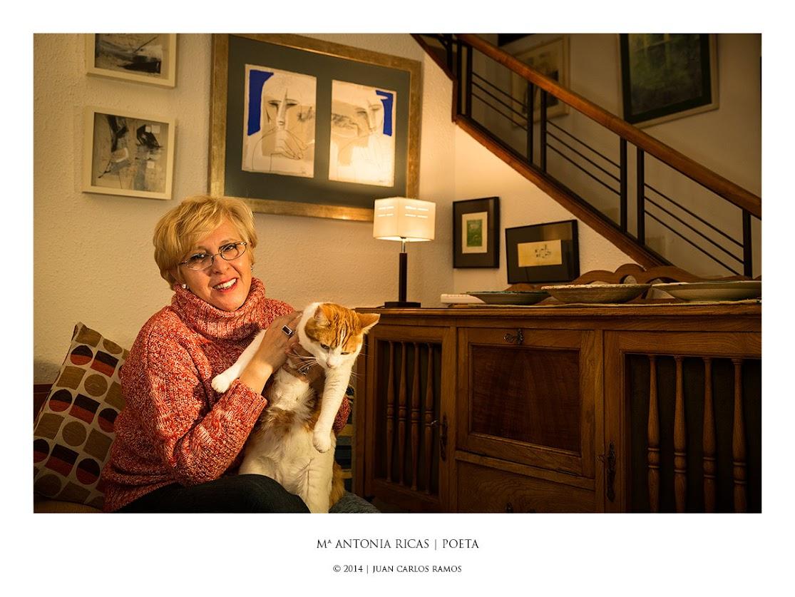 Maria Antonia Ricas, poeta | por Juan Carlos Ramos fotógrafo Toledo