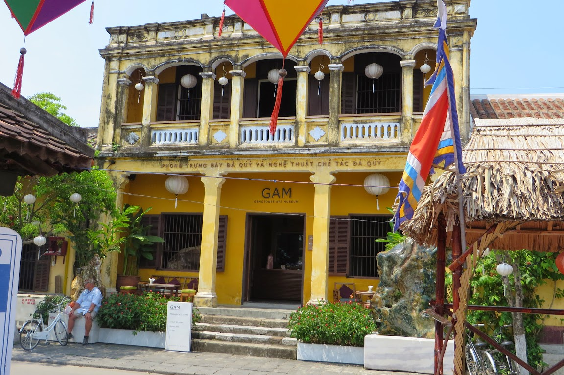 Typical building of Vietnam