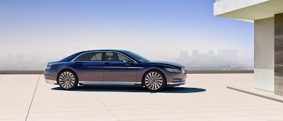 New Lincoln Continental excites limousine industry