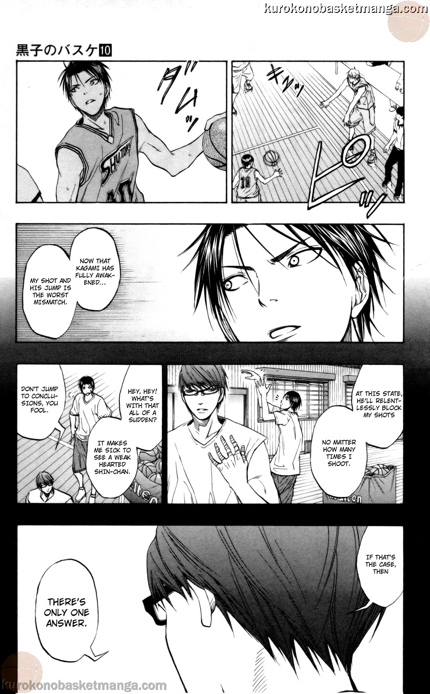 Kuroko no Basket Manga Chapter 86 - Image 15