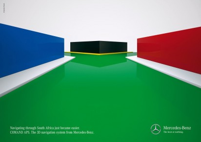 "Mercedes-Benz ""The Best or Nothing"" Print Ads"
