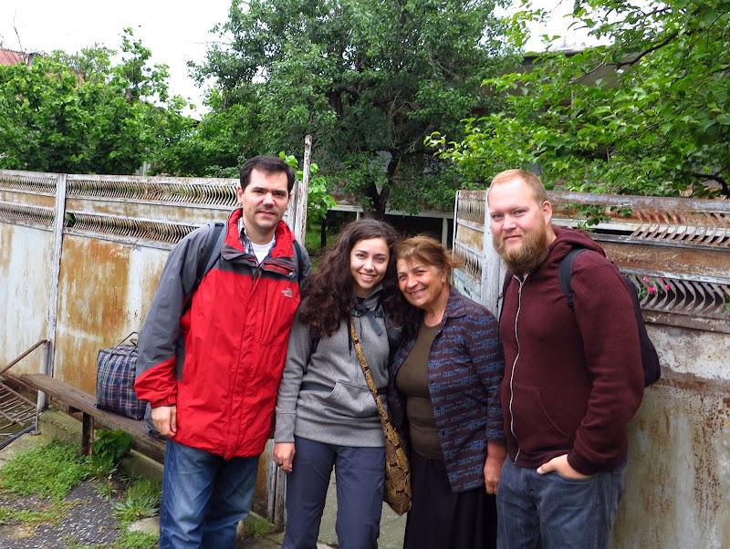 Kamran, Alicia, Eleni and Tony