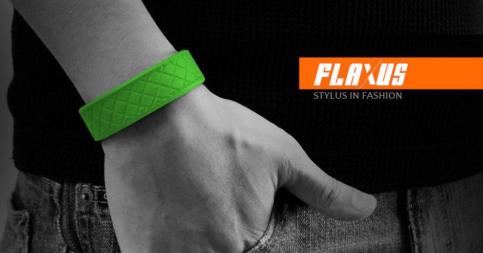 *FLAXUS矽膠手環觸控筆:還增添了童玩趣味! 3