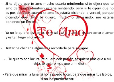 Frases amores para chavas