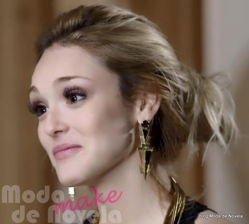 moda da novela Geração Brasil, maquiagem da Megan