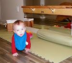 LePort Preschool Huntington Beach - Floor mats encourage movement at Montessori daycare