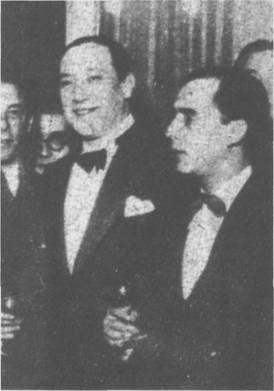 Juan Carlos Cobian y Pedro Maffia en 1934