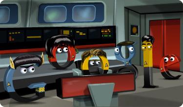 Google Doodle Star Trek