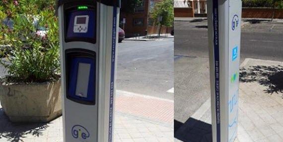Siguen las obras en los puntos de recarga de vehículos eléctricos