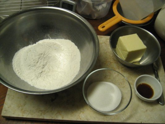 All ingredients - so simple yet so good!