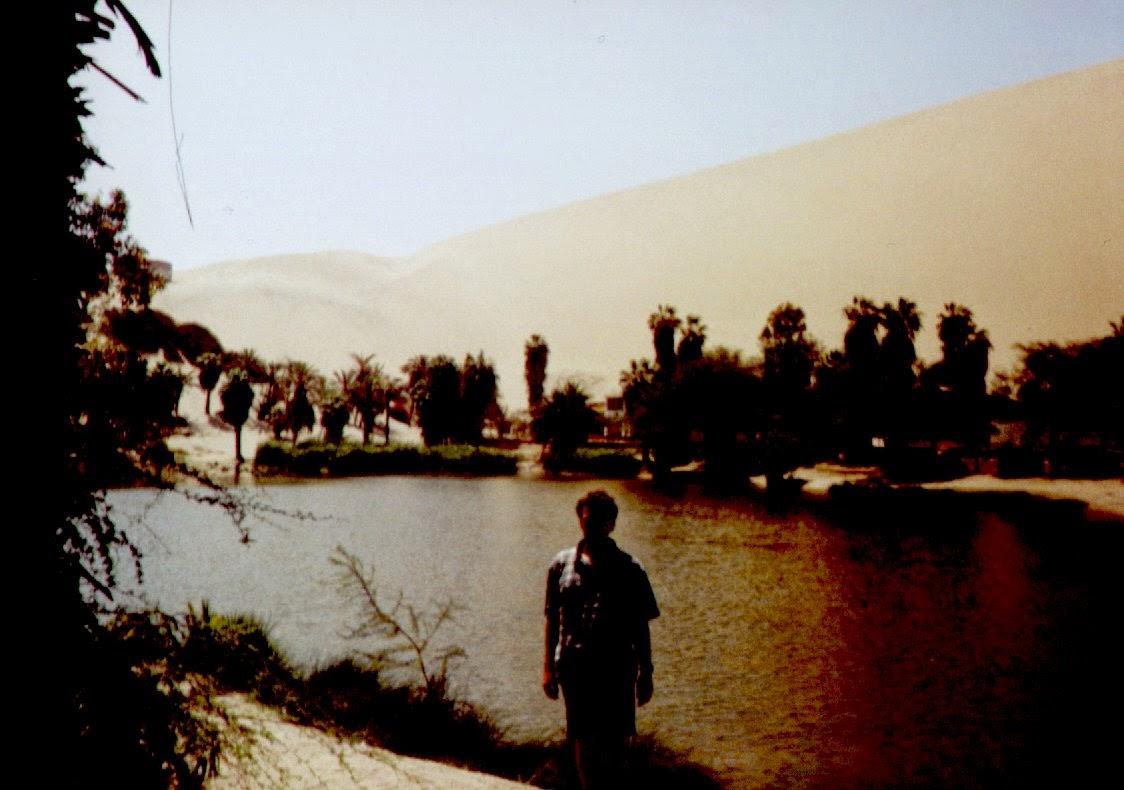 Die Lagune von Ica