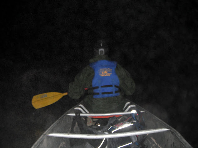 Night Paddle at Berryman Adventure Race
