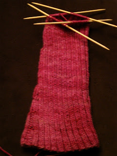 Knit Along:  Stirrup Socks from Purl Soho - Day 4 3