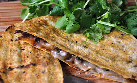 Recipe: Smoky black bean quesadilla