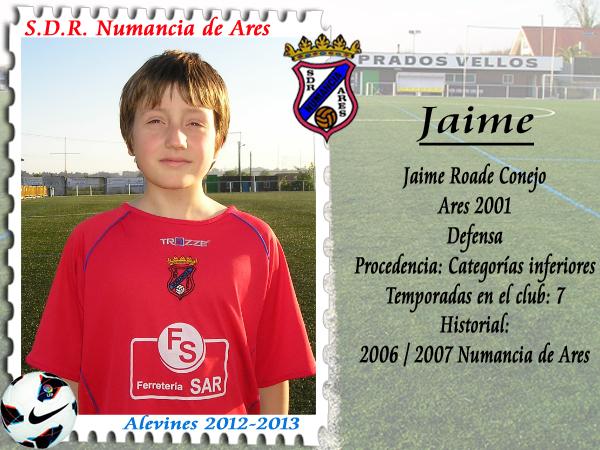 ADR Numancia de Ares. Jaime.