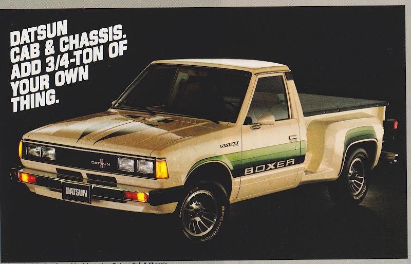 1980 Datsun 720  3  15