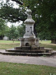 The Burton water fountain