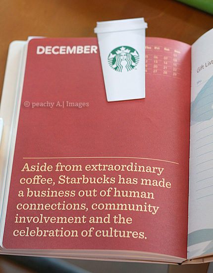 The Starbucks 2013 Planner And Christmas Beverages