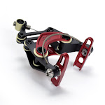eeCycle Works eebrake set - black/red