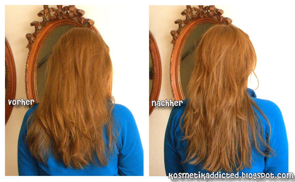 Stufenschnitt lange haare braun