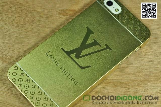 Ốp lưng  Iphone 5 5S  nhôm xướt thương hiệu