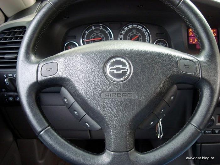 Zafira Elite 2009 2.0 Flex Automática, interior