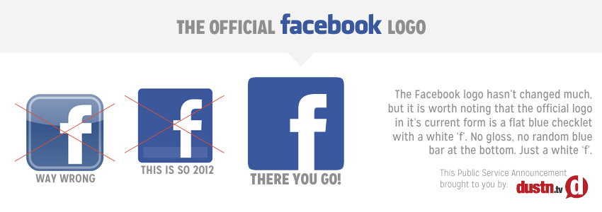 official facebook logo insert